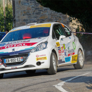 Jan Solans leads first day Rally Princesa de Asturias PEUGEOT RALLY CUP IBÉRICA 2018
