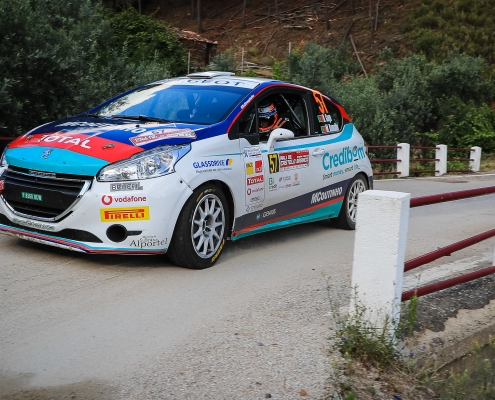 Diogo Gago is the leader Peugeot Rally cup Iberica 2018