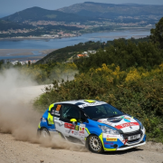 Josep Bassas Wins first round Peugeot Rally cup Iberica 2018